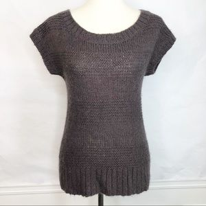 American Eagle Outfitters Sweater Taupe Plum Med.